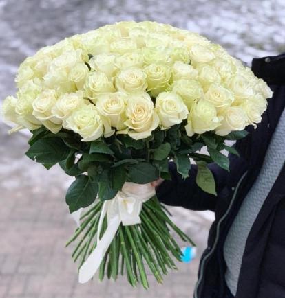 "Rožių puokštė - ""Regina delle rose"" (101vnt)"