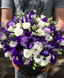 Gėlių dėžutė (Eustomos) 45€/59€