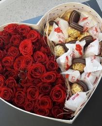 Gėlių dėžutė (Raudona)