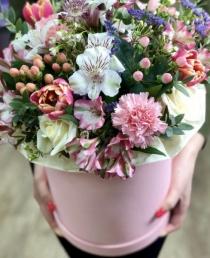 Įvairių gėlių dėžutė 30€/45€/55€