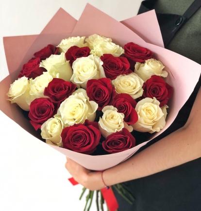 """Puokštė rožių """"Tėja"""""""