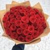 """Puokštė rožių """"Tėja"""" 39vnt  60cm 2"""