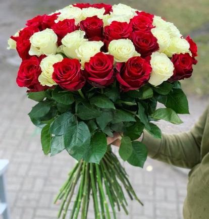 Raudona - Balta MIX (49vnt)  55€/75€/115