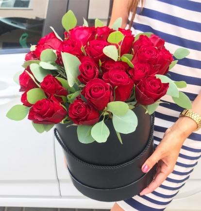"Rožių dėžutė ""Burgundy"""