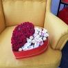 """Rožių dėžutė """"Irmina""""  39€/45€/55€ 0"""