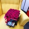 """Rožių dėžutė su macaroons sausainiukais """"Katrina"""" 3"""