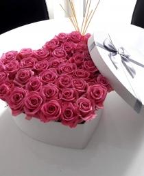 """Rožių dėžutė """"Pink O'hara"""""""
