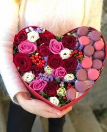 """Rožių dėžutė """"Sima"""" 39€/45€/59€"""