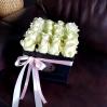 """Rožių dėžutė su macaroons sausainiukais """"Berta"""" 0"""
