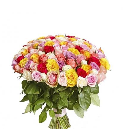 """Rožių MIX """"Šimtukas"""" 99€/129€/169"""