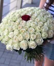 """Rožių puokštė """"Amanda"""" 101vnt"""