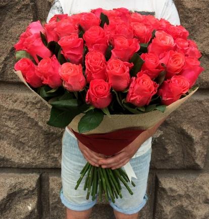 """Rožių puokštė """"Amėja"""" (39vnt)"""