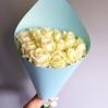 """Rožių puokštė """"Bianca""""  (19vnt) 0"""