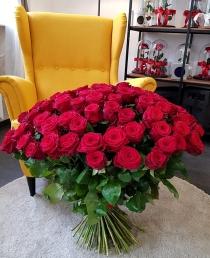 """Rožių puokštė """"Dream"""" (69vnt)"""