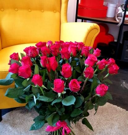 "Rožių puokštė ""Frej"" 39vnt"