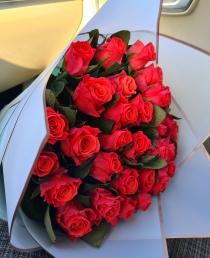 """Rožių puokštė """"Maja"""" (29vnt)"""
