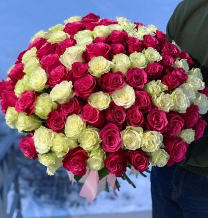 """Rožių puokštė  """"Miss  You"""" 99€/119€/135€"""