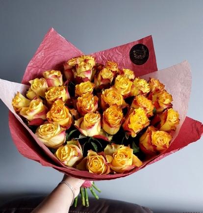 "Rožių puokštė ""Odri"" 29vnt"