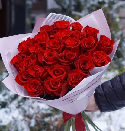"""Rožių puokštė """"Paris"""" (29vnt)"""