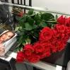 """Rožių puokštė """"Paris"""" (29vnt) 0"""