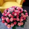"""Rožių puokštė """"Romina"""" (49vnt) 0"""