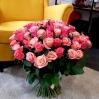 """Rožių puokštė """"Romina"""" (49vnt) 1"""