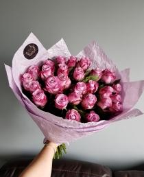 """Rožių puokštė """"Ulija"""" 29vnt/41€"""