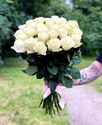 """Rožių puokštė """"Venera"""" 31vnt rožių"""