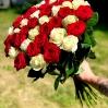 """Rožių puokštė  """"Žasmina"""" 51vnt rožių 0"""
