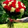"""Rožių puokštė  """"Žasmina"""" 51vnt rožių 1"""