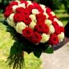 """Rožių puokštė  """"Žasmina"""" 51vnt rožių 2"""