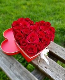 """Rožių širdelė """"Olimpyia"""""""