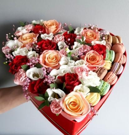 """Rožių širdelė """"Sabrina"""""""
