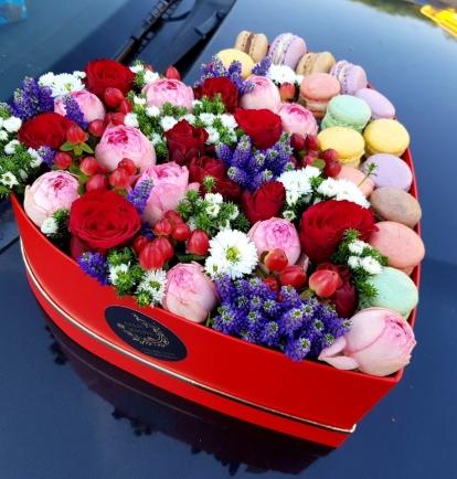 """Rožių širdelė """"Sara"""""""