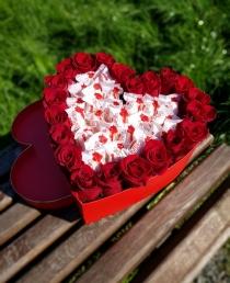"""Rožių širdelė """"Veronik"""""""