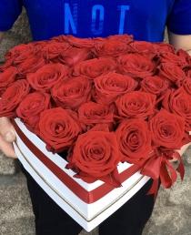 Rožių širdelė 40€/55€/70€