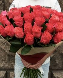 Rožinės rožės (51vnt) 75€/99€