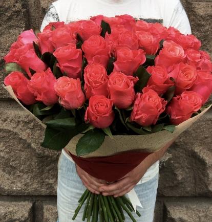 Ružavos rožės (51vnt) 75€/99€