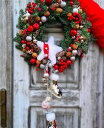 """šv.Kalėdų vainikas """"Kloja"""""""