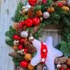 """šv.Kalėdų vainikas """"Kloja"""" 1"""