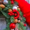 """šv.Kalėdų vainikas """"Kloja"""" 2"""