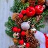 """šv.Kalėdų vainikas """"Kloja"""" 3"""