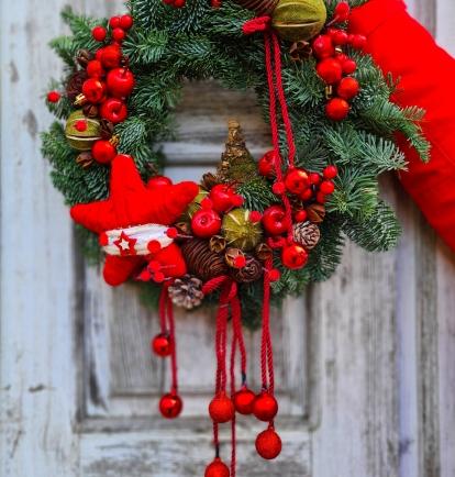 """šv.Kalėdų vainikas """"Solomija"""""""