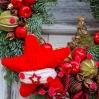 """šv.Kalėdų vainikas """"Solomija"""" 0"""